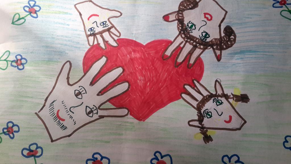 Бабеншева Алиса, 6 лет, Мир - там, где семья!