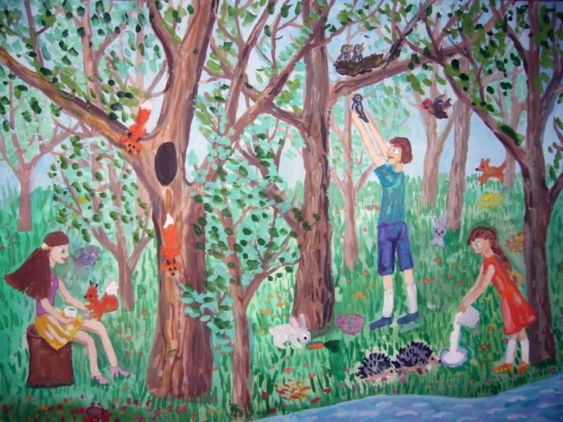 Баширова Екатерина Игоревна, жизнь в мире с природой, 9 лет