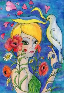Да будет мир на Украине!-Олийнык Анастасия-12лет-Украина-Львов