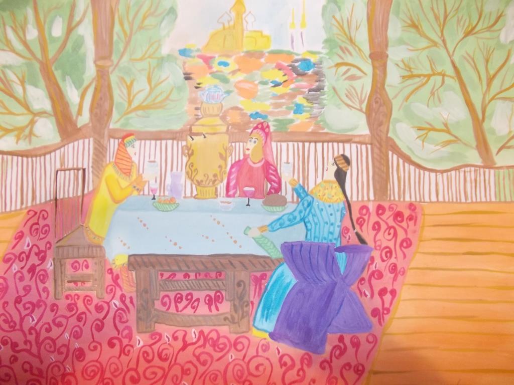 Леконцева Ангелина Береги в доме добро, в чае - тепло 2001 год
