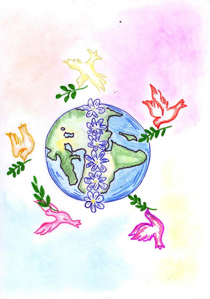 Терентьева Дарья, 7лет, Мир на планете