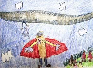 Алёша Милихов, Мой папа Супергерой, 6 лет