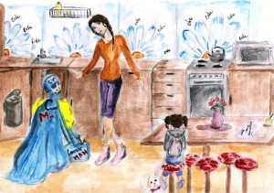 Артемова Дарья, 13 лет, Мой папа супергерой