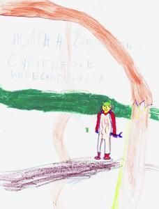 Галюта Майя, 6 лет, Сантехник чистит трубы