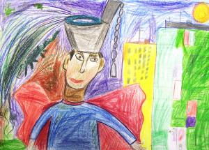 Илья Созыкин, Мой папа, 8 лет