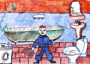 Каире Александр, 12 лет, Домашний ремонт
