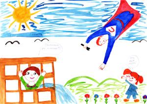 Ксения Шуховцова, Мой папа Сантехмен, 6 лет