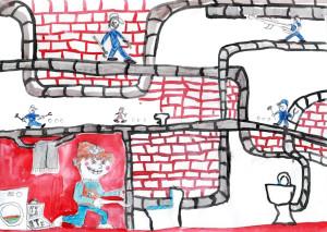 Подземные работ, Петров Данил, 12 лет