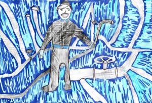 Трубный мастер, Евстегнеева Дарья, 10 лет