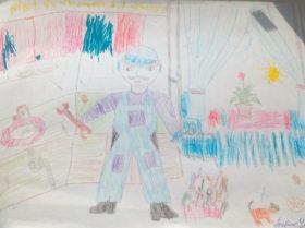 Ангелина Бобик 8 лет, Карталы