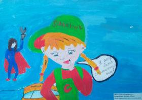 Диана Пелипенко 12 лет, Карталы