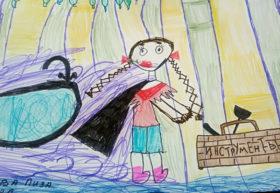 Елизавета Алмазова, 7 лет (г. Челябинск)