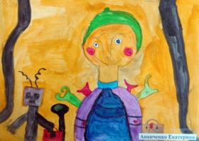 Екатерина Ананченко, 6 лет (г. Челябинск)