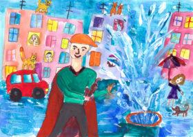Арина Кухтурская, 8 лет (г. Челябинск)