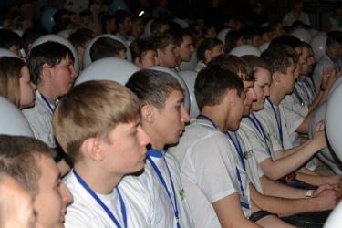 Торжественная церемония открытия WorldSkills-Челябинск 2014